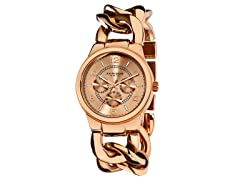 Women's Twist Chain Multifunction Watch
