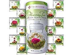 Teabloom Flowering Tea 12 Unique Varieties