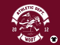 2012 Woot Athletic Dept - Cranberry