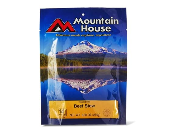 mountain house freeze dried food sellout woot