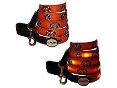 Auburn University Tigers LED Leash 6'