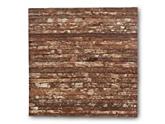 Wooden Bark Wall Display
