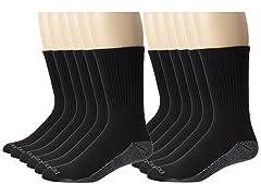 Dickies Mens DriTech Comfort Crew Socks