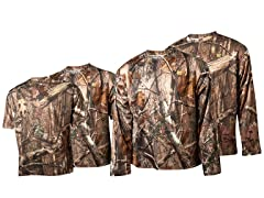 RecTec Men's Camo Long-Sleeve 2-Pack