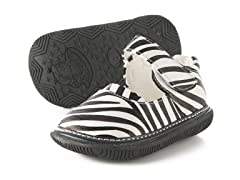 Mary Jane Squeaker - Zebra (3-8)