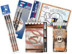 San Francisco Giants MLB Team Notepad