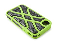 X-Protect iPhone 4/4S Case - Green/Black