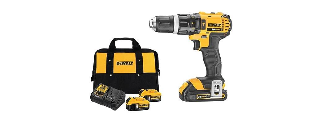 DeWALT Hammer Drill/Driver or 2-Battery Starter Kit