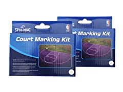 Spalding Basketball Court Kit 2-Pack