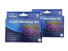 Spalding Basketball Court Kit 2pk