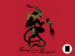 Greetings From Krampus! Greeting Cards