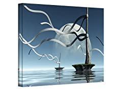 Cynthia Decker Ribbons Canvas Art