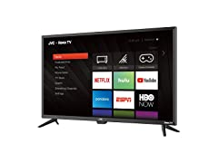 "JVC 43"" Class FHD 1080p Roku Smart LED TV (LT-43MAW588)"