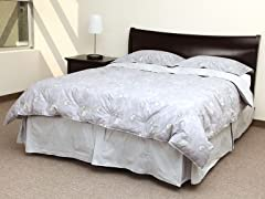 Spring Petal Reversible Down Comforter Set-King