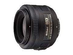 Nikon 35mm f/1.8G AF-S NIKKOR DX Lens