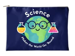 Science Makes the World Accessory Pouch