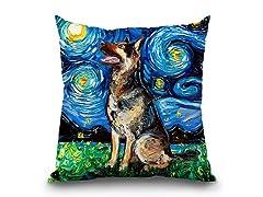 LiLiPi German Shepherd Forward Pillow