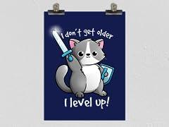 """I Level Up!"" Poster"