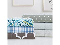 Luxury 4PC Printed Sheet Set
