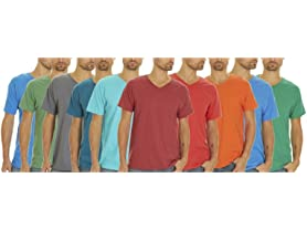Fruit Of The Loom Men's V-Neck Tees 5-Pk