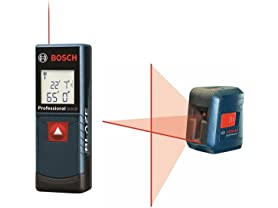 Bosch Laser Measure & Cross Line Bundle