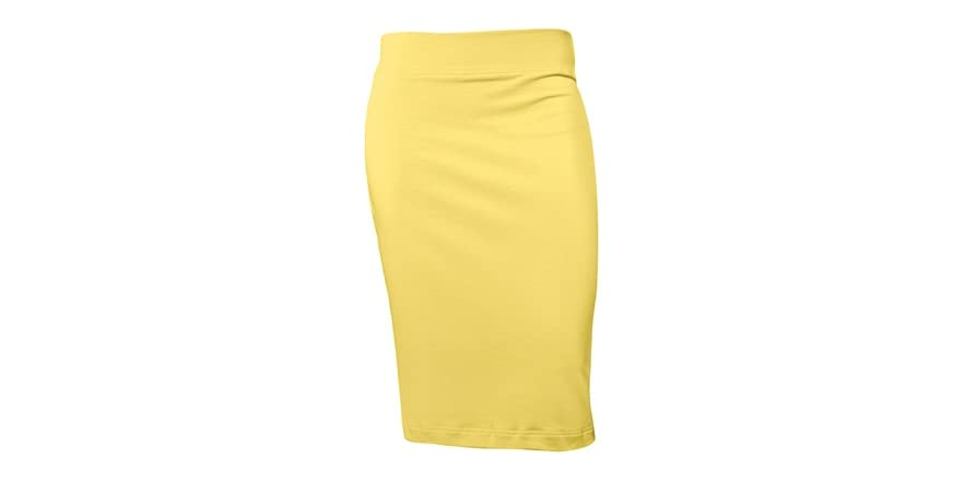 juniors pencil skirt banana