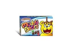 Muddy Bears Chocolate Covered Gummi Bear, 12 Pack