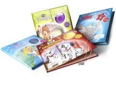 Disney Charm Book 4 Pack Bundle Sets