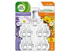 Air Wick Scented Oil Plug In with 9 Refills
