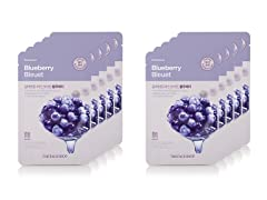 Real Nature Blueberry Mask - 10 Pack