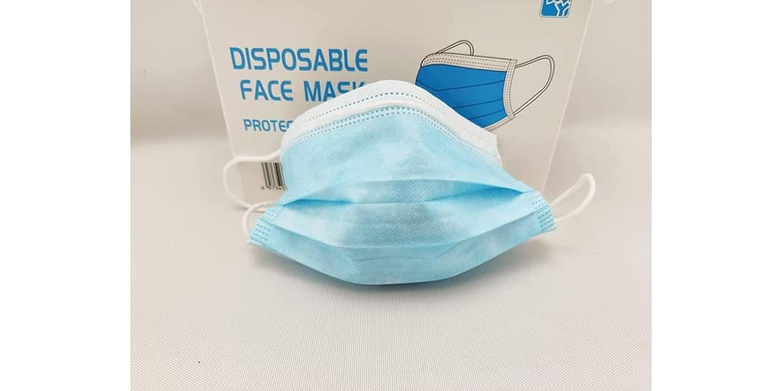 HY 3-Ply Disposable Face Mask (Pack of 100) | WOOT