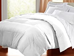 Egyptian Cotton Down Alternative Comforter-White