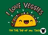I love Veggies...on the Top