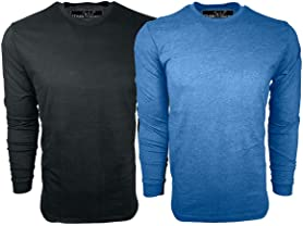 Men's Ultra Soft Sueded LS Tees 2-Pack