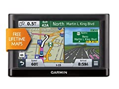 "Garmin 6"" GPS with Lifetime Maps"