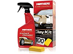 Mothers California Gold Clay Kit Express