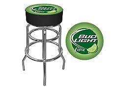 Bud Light Lime Bar Stool, Green