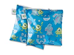 Monsters Large Snack Bag 2-Pk
