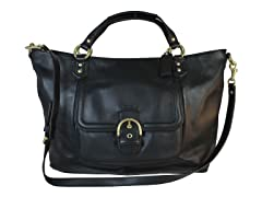 Campbell Izzy Fashion Satchel, Black