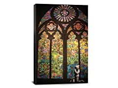 Stained Window Graffiti