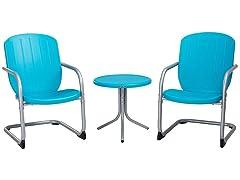 Lifetime Plastic Retro Outdoor Patio Furniture