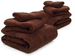 HomeSource Microcotton Towel Set