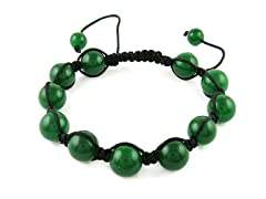 Green Ball Shamballa Bracelet