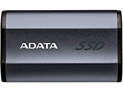 ADATA USB-C External SSD, Black