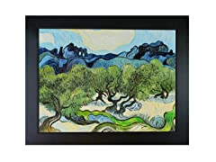 Van Gogh - Olive Trees with the Alpilles