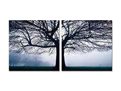Morning Haze Diptych