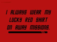 Away Mission Superstitions
