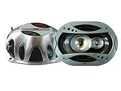 6'' x 9'' 360 Watt 3-Way Speaker System (Pair)