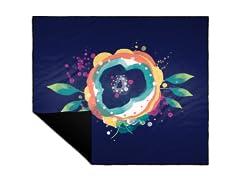"""Floralia"" Camp Blanket"