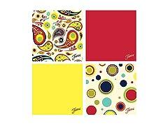 Fiesta Paisley/Dots Coasters